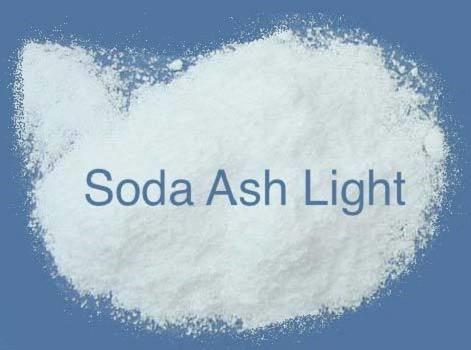 Soda ash light là tinh thể màu trắng giống muối
