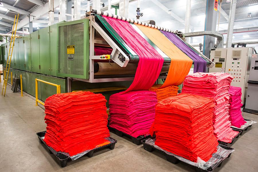 Formalin dùng trong sản xuất vải